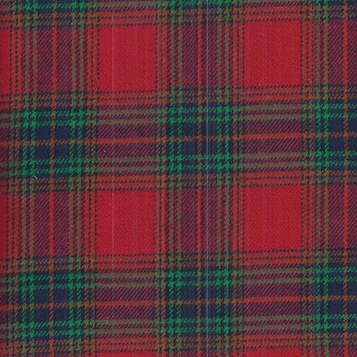 Flannel / Brushed Cotton - Red tartan check