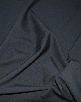 Dobby Wool Crepe - Black