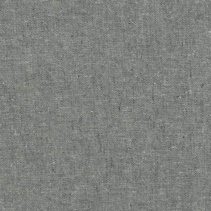 Robert Kaufman Essex Linen Yarn Dyed - Graphite