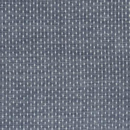 Chambray Union Dots - Indigo