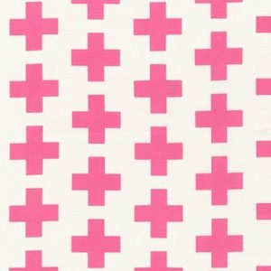 Geo Pop Canvas Crosses - Pink