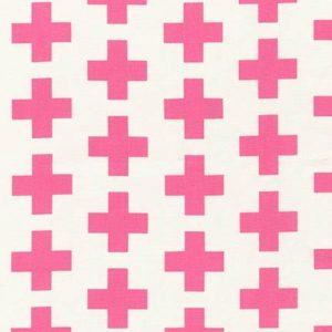 Geo Pop Canvas Crosses - Pink