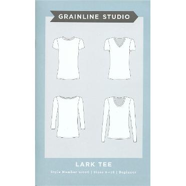 Grainline Studio Lark Tee // 11006 // Pattern envelope // Holm Sown