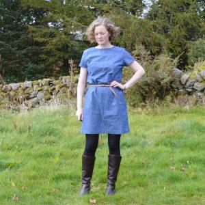 Camber Set Dress // Denim Chambray // Holm Sown