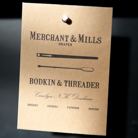 Merchant & Mills Bodkin and Threader