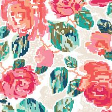 Flowered Engrams - Delicate // AGF Knit // Holm Sown