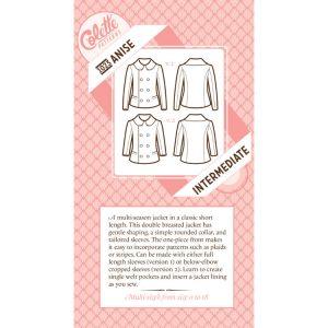 Colette Sewing Patterns // 1023 Anise Coat Jacket // pattern envelope // Holm Sown