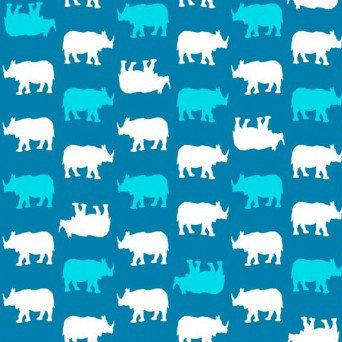 Baby Chic - rhino / blue