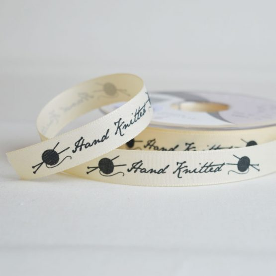 Berisfords Ribbon | Hand Knitted | 15mm wide | Holm Sown