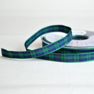 Berisfords Tartan Ribbon | Blackwatch | Holm Sown