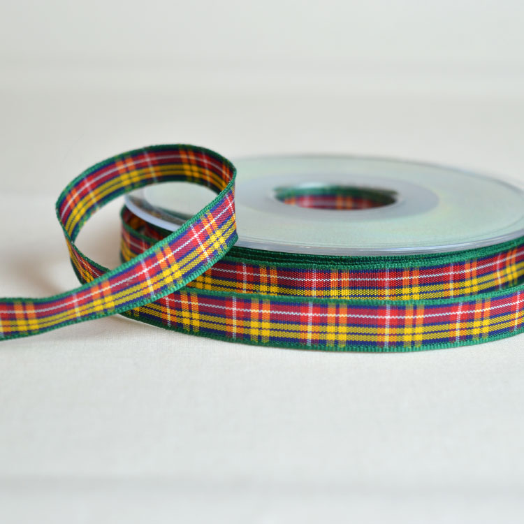 Berisfords Tartan Ribbon | Buchanan | Holm Sown