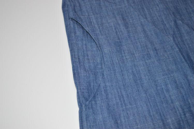 Camber Dress // pocket detail // Holm Sown