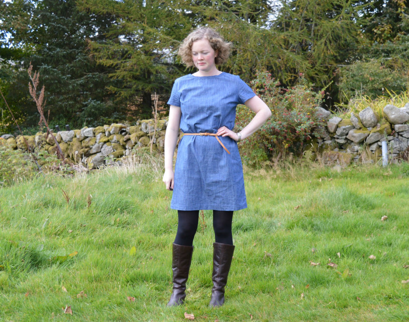 Camber Dress // Denim Chambray // Holm Sown