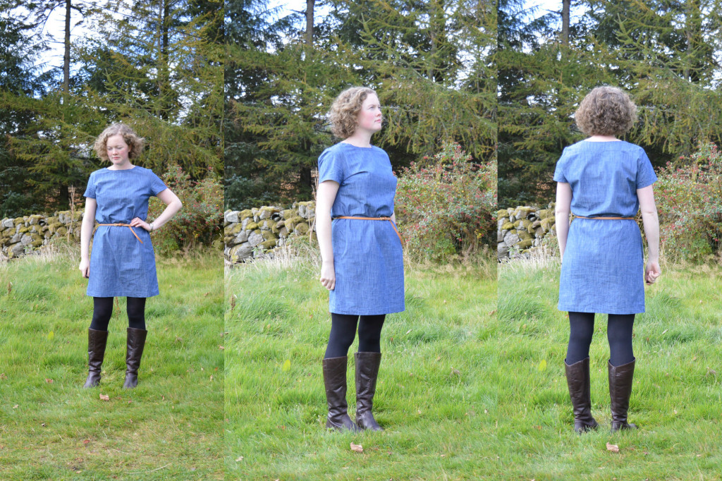 Camber Dress - with belt // Denim Chambray // Holm Sown
