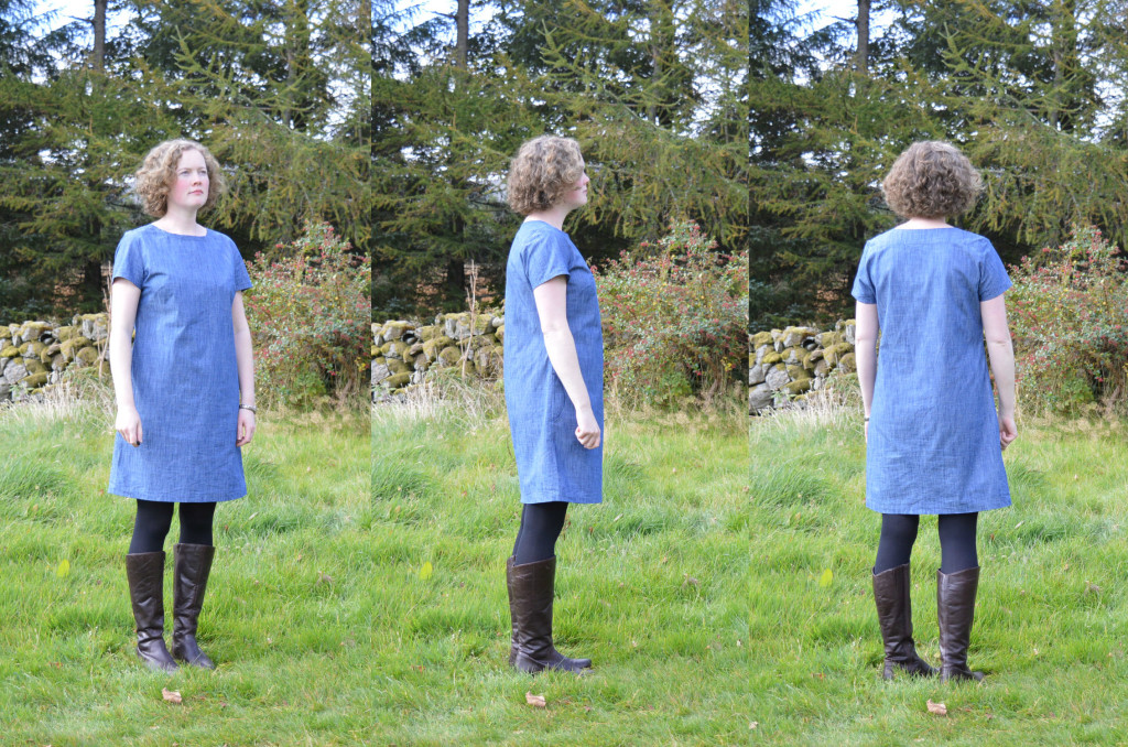 Camber Dress - without belt // Denim Chambray // Holm Sown