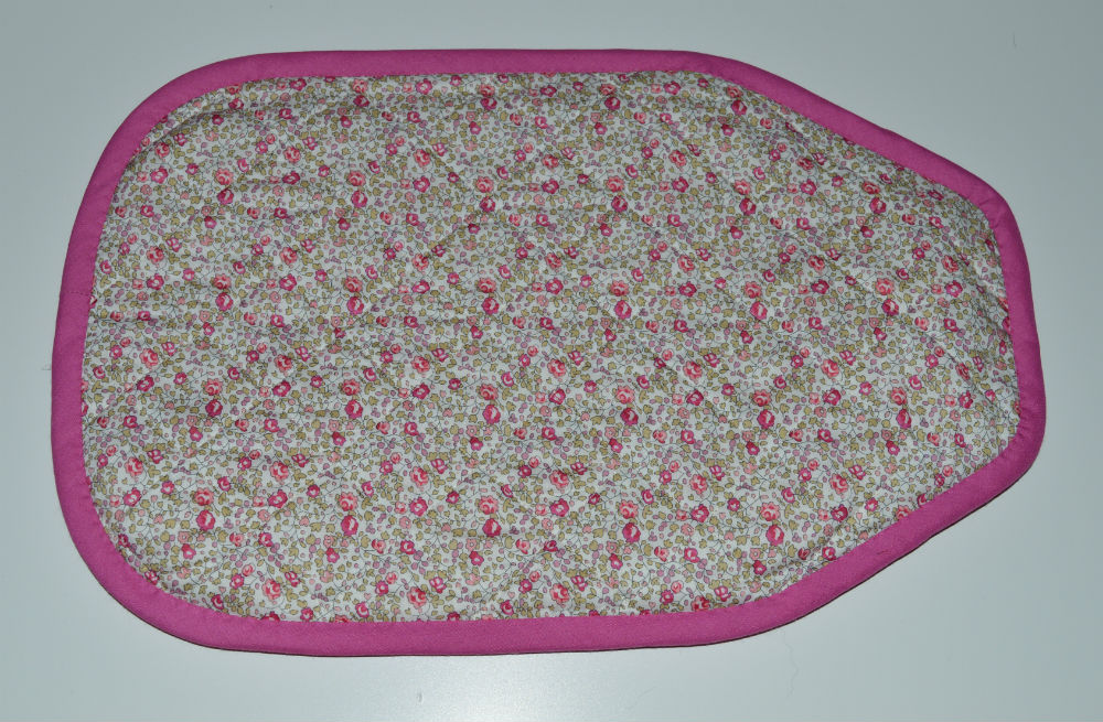 Quilted Hot Water Bottle Cover // Back // Holm Sown