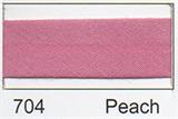 Bias Binding - Peach (20mm)