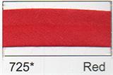 Bias Binding - Red (20mm)