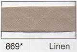 Bias Binding - Linen (20mm)