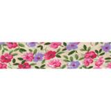 Bias Binding - Pink Ditsy Flower (20mm)
