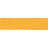Bias Binding - Yellow Spot (20mm)