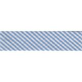 Bias Binding - Blue Stripe (20mm)