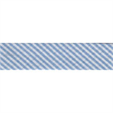 Bias Binding - Blue Stripe (20mm)