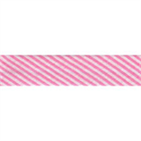 Bias Binding - Pink Stripe (20mm)