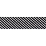 Bias Binding - Black Stripe (20mm)