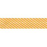 Bias Binding - Yellow Stripe (20mm)