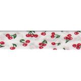 Bias Binding - Red Cherries (20mm)