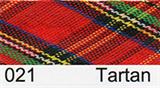 Bias Binding - Red Tartan (15mm)