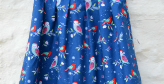 Geranium Dress Front // Handmade Clothes // Holm Sown