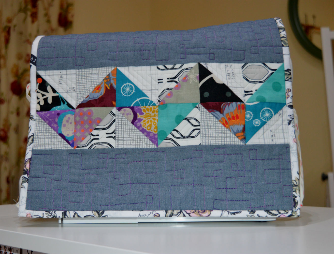 Sewing Machine Cover Mini-Quilt Workshop // Holm Sown