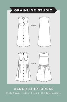 Grainline Studio // Alder Shirtdress // Holm Sown