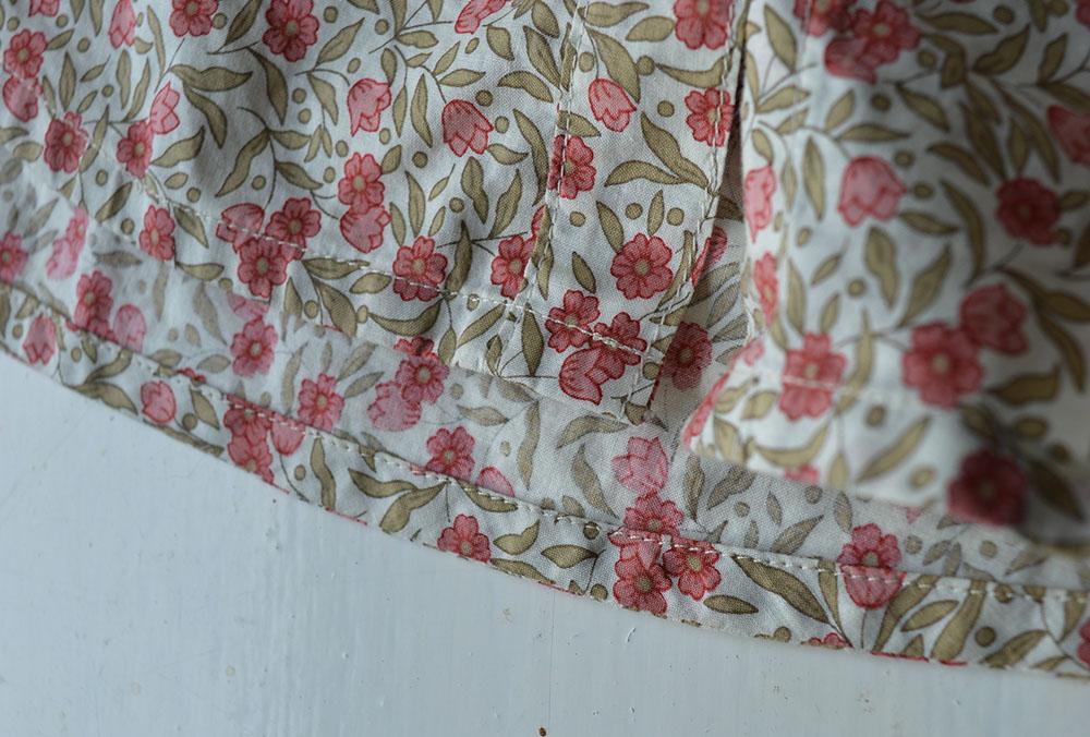 Grainline Alder // Floral Lawn // Hem Detail // Holm Sown