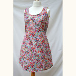The Tank Dress by Sew Caroline // Edith floral cotton lawn // Holm Sown
