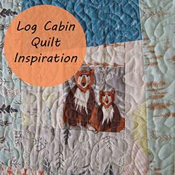Log Cabin Quilt Inspiration // Holm Sown