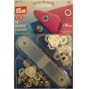 P390111 Prym ring top press fasteners 10mm white