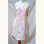 The Tank Dress by Sew Caroline // Rosie floral brushed cotton // Holm Sown