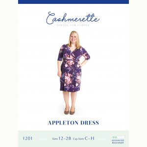 Holm Sown Online Fabric Shop - Cashmerette Patterns Appleton Dress Sewing Pattern - pattern envelope front