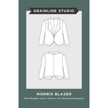 Grainline Morris Blazer Pattern // Holm Sown