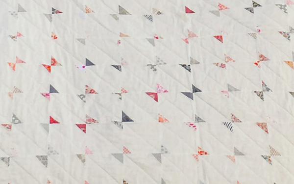 Kaite's Bow Tie Quilt // Blocks // Holm Sown