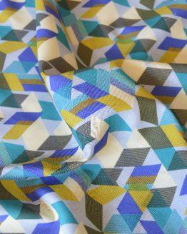 Dakota Geometric Luxury Cotton Lawn