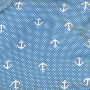 Anchors Viscose // blue & white // thumb // Holm Sown
