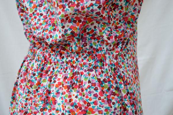 The Tank Dress // Sew Caroline // Edith Cotton Lawn // Elastic casing // Holm Sown