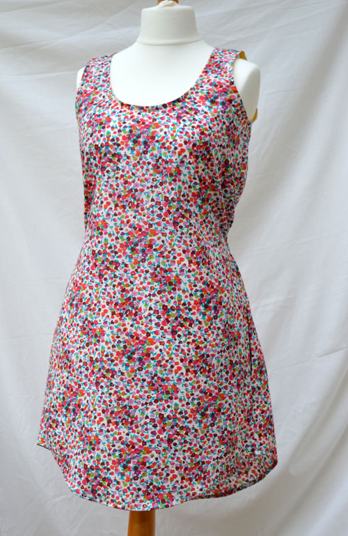 The Tank Dress // Sew Caroline // Edith Cotton Lawn // Front // Holm Sown