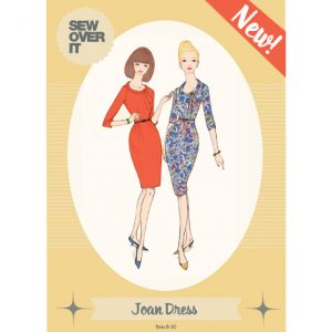 Joan Dress sewing pattern // Sew Over It // Holm Sown