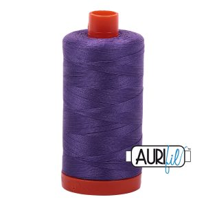AURIfil Mako 50wt thread // cotton thread // #1243 dusty lavender // Holm Sown