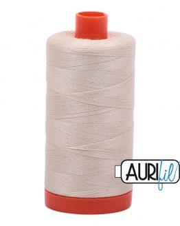 AURIfil Mako 50wt thread // cotton thread // #2310 light beige // Holm Sown